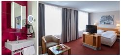 Business Fotografie ein Zimmer im Hotel Europäischer Hof in Hamburg
