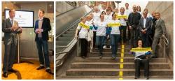 Initiative 'Hamburg trainiert' mit Staatsrat Christoph Holstein