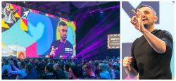 Gary Vaynerchuk (Entrepreneur und Bestsellerautor) bei den Online Marketing Rockstars in Hamburg