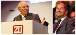 20 Jahre Spiegel Online mit Wolfgang Schäuble und Olaf Scholz