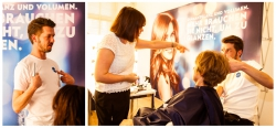 Nivea Hair Academy mit Sally Brooks aus London