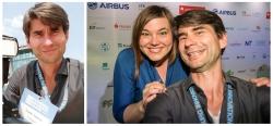 Selfie mit Katharina Fegebank auf dem Hamburg Innovation Summit 2016