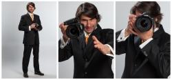 Frank Erpinar ist ein guter Fotograf im Anzug