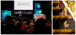 Eventfotografie auf der Digitalkonferenz NEXT18 auf der Reeperbahn in Hamburg mit David Mattin (TrendWatching)