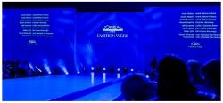 L'Oreal Präsentation auf der Fashion Week Berlin